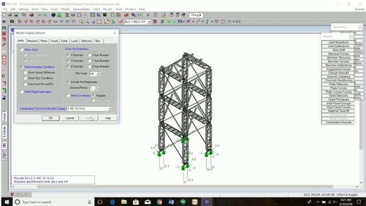 Phần mềm thiết kế kết cấu thép Risa
