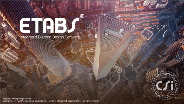 Phần mềm thiết kế kết cấu thép ETABS