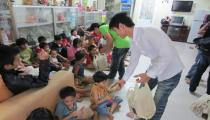 CHARITY WORK IN THE BMB HCM OFFICE ON JANUARY, 2012