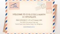 Welcome to BMB Steel's booth at PhilConstruct 2018