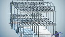 Application of steel structure in steel buildings