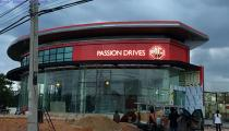 MG CAR SHOWROOM