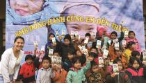 BMB Steel presented gift for children in Cao Bang, Vietnam