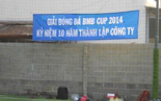 BMB CUP 2014 - 10 years anniversary BMB STEEL