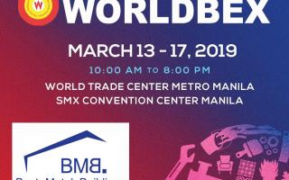 WELCOME TO BMB STEEL'S BOOTH AT WORLDBEX 2019
