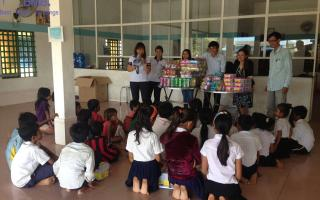 BMB STEEL CAMBODIA CHARITY PROGRAM ON MAY 31