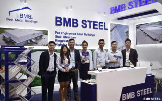 BMB STEEL PARTICIPATED IN MYANBUILD 2019 IN YANGON, MYANMAR