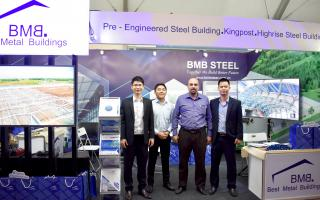 BMB Steel participated Philconstruct exhibition 2018 in Manila, Philippines