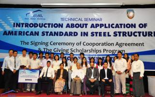 BMB STEEL HELD TECHNICAL SEMINAR AT YANGON TECHNOLOGICAL UNIVERSITY, MYANMAR