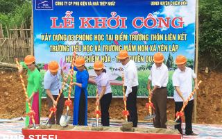 Grand opening ceremony of the BMB Love School in Tuyen Quang, Vietnam