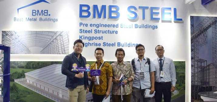 BMB STEEL PARTICIPATED MEGABUILD'19 IN INDONESIA